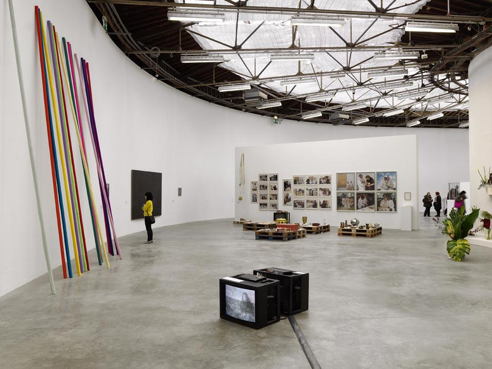 La Triennale—Intense Proximity, curated by Okwui Enwezor at the Palais de Tokyo, Paris, 2012. [for Proposal for a Museum and mise en green]