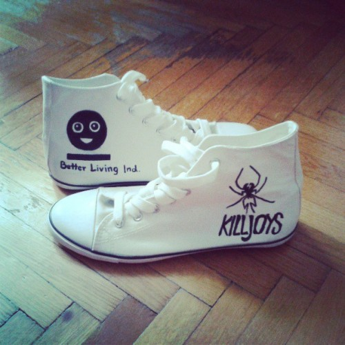 Na na na na na~ #killjoys #mcr #bli #sneakers