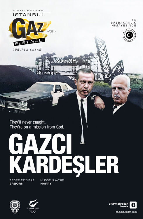 VEE GAZCI KARDEŞLER SAHNEDE!.. They'll never caught. They're on a mission from God. Made by Bjurynbũrddan