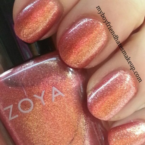 myboyfriendhatesmakeup:  @zoyanailpolish #zoya Tinsley..Not my fave polish ever :(
