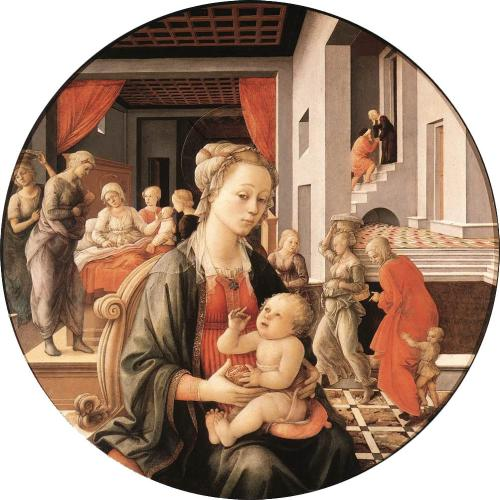For your viewing pleasure, here's a Lippi madonna