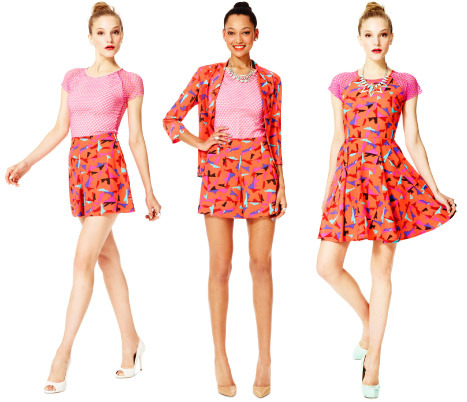 Hunter's colorful prints are a total Summer-do!