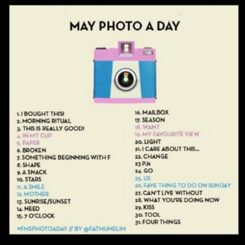 Ima do this :D #May #Photos #challenge #happiness # fun #Yodto(you only do this once)(;