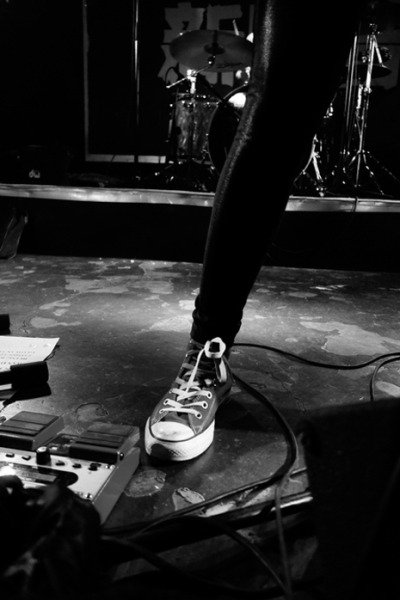 conversemusic:   Hell Yea takes the stage, rocking Converse in China last November.