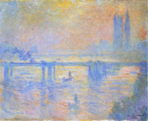 Charing Crossing Bridge, 1902 ~ Claude Monet