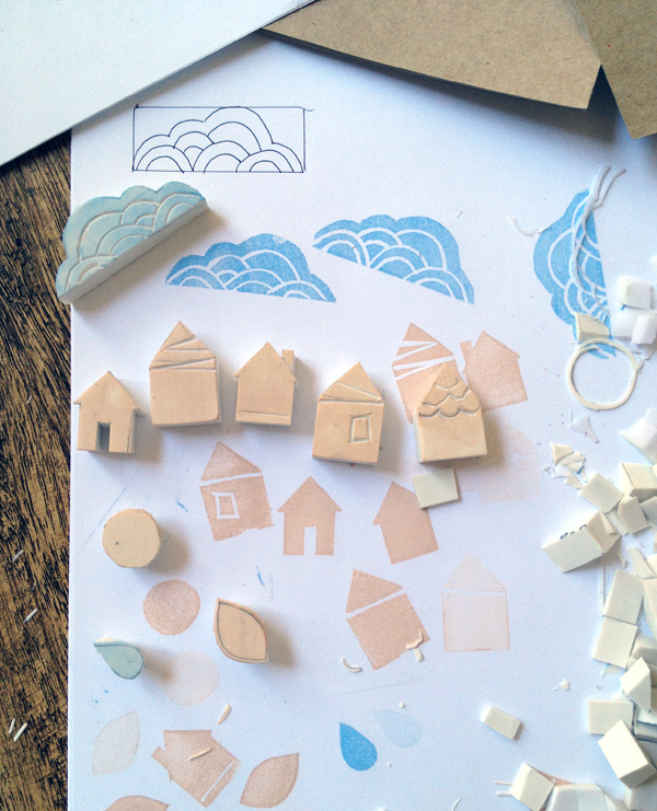craftdiscoveries:  (via How to Carve Your Own Beautiful Stamps | Crafttuts)