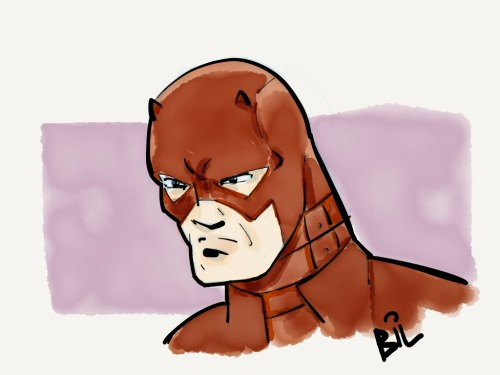 A bit of a Daredevil reboot. Always figured he had some kind of protective gear beneath his costume. Made with Paper