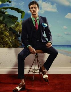 Edward Lemonier for Arena Homme + SS13