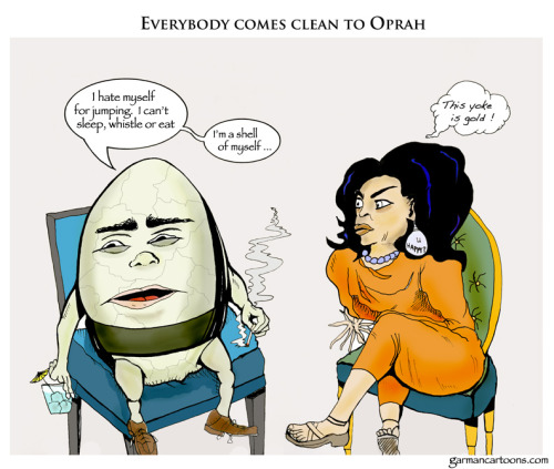 """Oprah, Lance and the Eggman…"""
