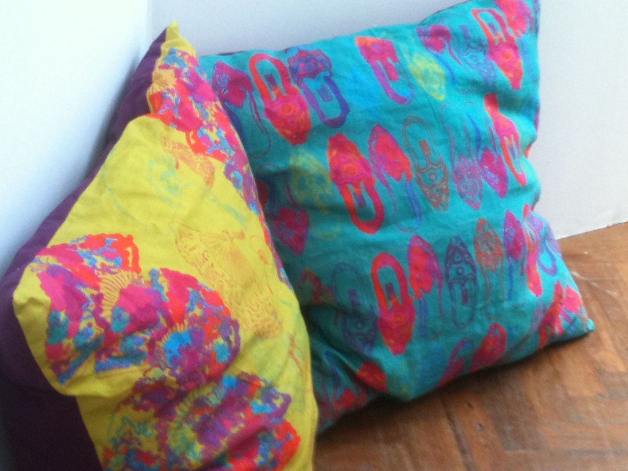 Final Exhibition, Cushions.  © Natasha Lummes