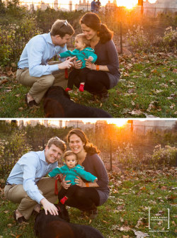 A FAMILY LIFESTYLE PORTRAIT: I had the pleasure of photographing this family in early November. I always prefer to use natural light for my portraits. On this particular day, the early winter sun created a magical glow for both the indoor and outdoor images!