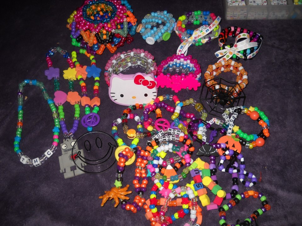 kandi I've made the past few weeks~