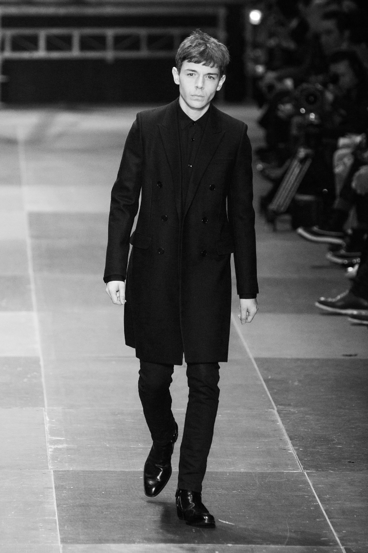 My housemates boyfriend for Saint Laurent Paris