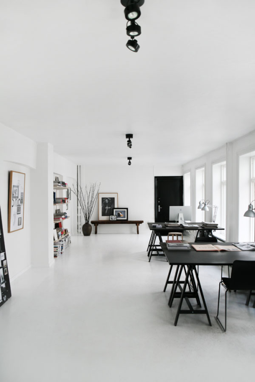 somniloquy:  monochromatic apartment