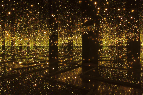 "thatsbloominmarvellous:  ""Fireflies on the Water"" by Japanese artist Yayoi Kusama"