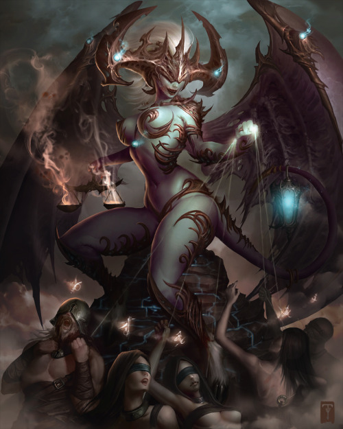 The Demoness by Tyler James
