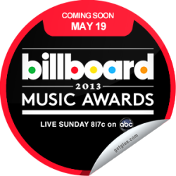 I just unlocked the The 2013 Billboard Music Awards Coming Soon sticker on GetGlue                      3608 others have also unlocked the The 2013 Billboard Music Awards Coming Soon sticker on GetGlue.com                  You're gearing up to watch Tracy Morgan take the stage to host the 2013 Billboard Music Awards! Tune in live on Sunday, May 19th at 8/7c on ABC! Share this one proudly. It's from our friends at ABC.