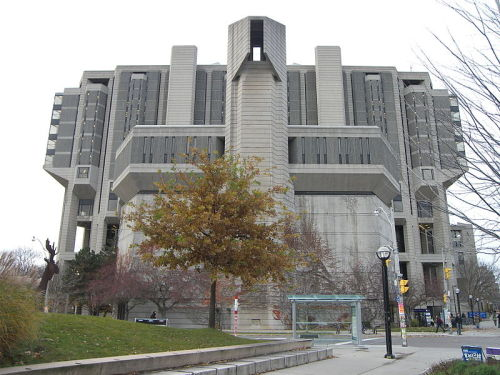 The Thomas Fisher Rare Book Library is a library in the University of Toronto, constituting the largest repository of publicly-accessible rare books and manuscripts in Canada. The library is also home to the university archives which, in addition to institutional records, also contains the papers of many important Canadian literary figures including Margaret Atwood and Leonard Cohen. Among the collection's items are the Nuremberg Chronicle (1493), Shakespeare's First Folio (1623), Newton's Principia (1687), and Darwin's proof copy (with annotations) of On the Origin of Species (1859). Other collections include Babylonian cuneiform tablet from Ur (1789 BC), 36 Egyptian papyrus manuscript fragments (245 BC), and Catholicon (1460).