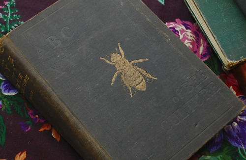 Vintage Beekeeping Book.