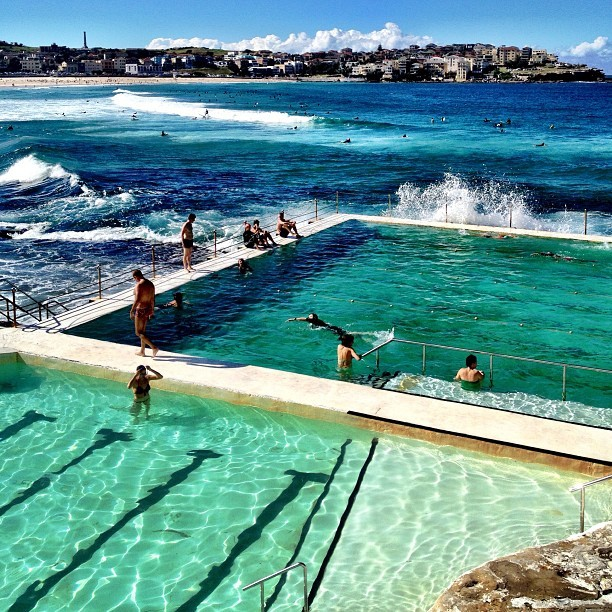zimmermann-sydney:  Bondi being extra awesome for Mothers Day x nz (at Bondi Icebergs)