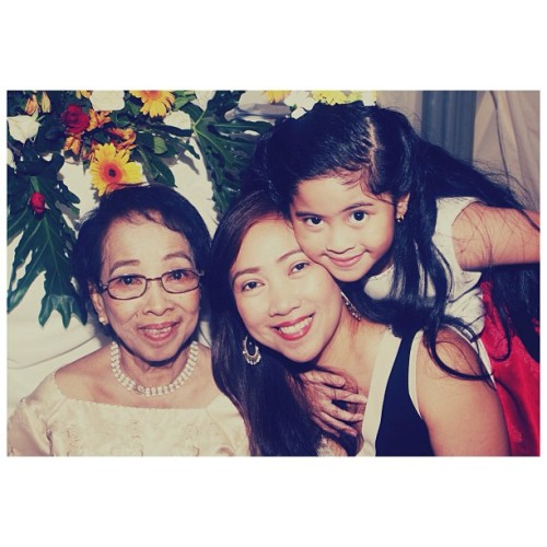 Happy Mother's Day to the most beautiful Mama and Lola. Thank you for taking care of me and for being there for me when I needed you. Sorry for the mistakes that I've done. I love you both. And to my Lola, I love you and I pray the you get well soon.