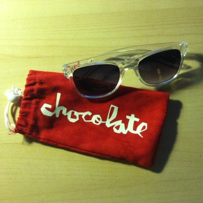 Summer ready. @chocolateskateboards Sunglasses @crailtap #evanhecox Thanks @bigboootyjoe & @platformskateshop. #shoplove