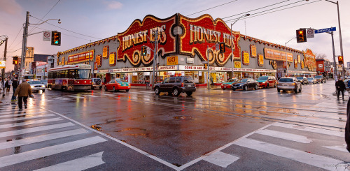 Honest Eds in Koreatown, Toronto, Canada. [Explored! April 27, 2013] (by kaybee07)
