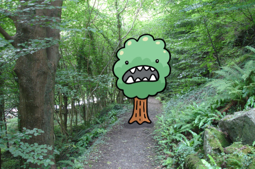 The Angry Tree wasn't letting anybody get to the one town for miles around that day.