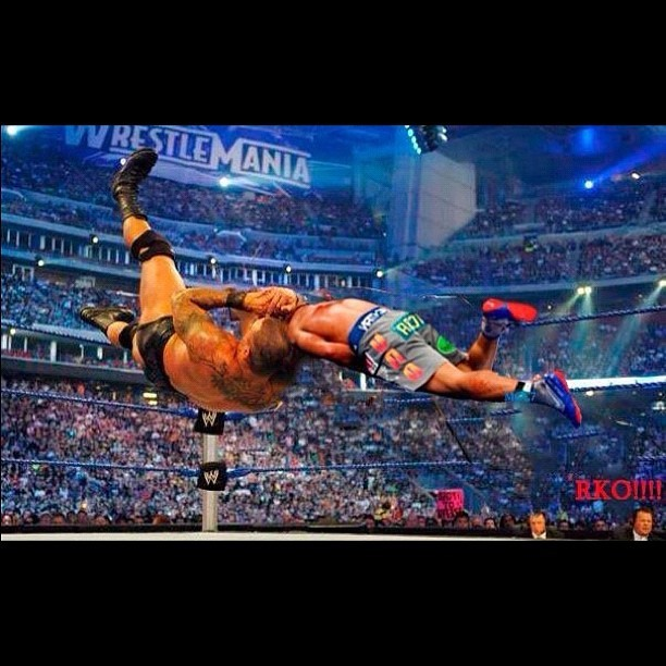 LOL AT THIS RKO IN MID AIR TO MANNY PACQUIAO!!! I wish Marquez's Knockout was fake like WWE. #RKO #WWE #mannypacquiao #pacman #pacquiao #FAKE