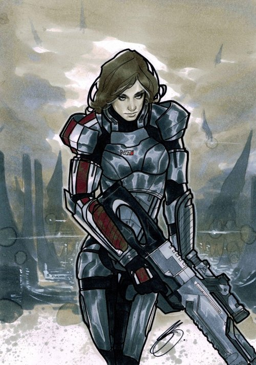 Female Shepard by ~XBlitzCraigX