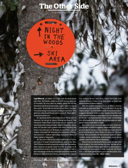 Via Backcountry magazine
