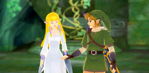 l-o-z:  Zelda/Link Appreciation (requested by anon) Link and Zelda are a beautiful pairing, romantically or not. No matter whether they appear as strangers or friends, there's always a spiritual tie that binds them and brings them together in some way. Destiny, you could say. And that bind has been there since the very beginning of the legend. However, I find that there is something disturbing and sad about these two. To us, their bond has only grown. Since the very beginning of our Zelda experience, their relationship has blossomed from being strangers in the original Legend of Zelda to childhood best friends in Skyward Sword. Truthfully, in the chronological order of the timelines, it's the exact opposite. The friendship and love that the Link and Zelda of Skyward Sword shared has slowly diminished over time. Their bond used to be, in ancient times, strong and true. More recently, on the edges of the timelines we now know are canon, the two are nothing but strangers whose paths cross by fate alone. Their kinship has eroded over time and has become nothing but a distant memory of the past - a love that has faded into history. All that lives on are the ties that their ancestors passed onto them - purely a bond that need not be developed into a friendship, and never will be. - l-o-z Request another LoZ Character Appreciation post!