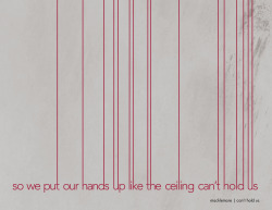 Jennifer McGee | Graphic Design | 365 Lyric A Day Project | Day 362 | Macklemore | Can't Hold Us