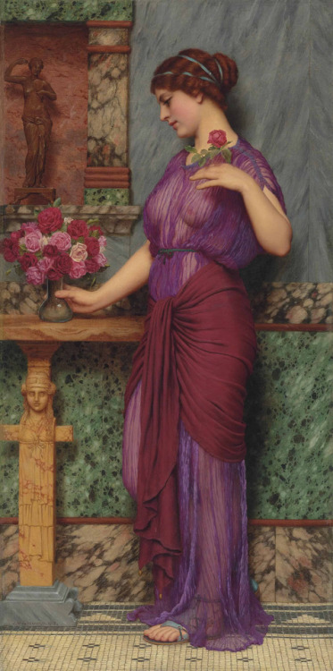 john william godward 1900s neoclassicism repost: better quality image