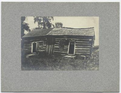Now that's a log cabin. Lincoln's log cabin. Today's Abe's birthday. Check out his reading list: http://www.poets.org/lincoln