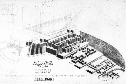 nickkahler:  Superimposition of the Temple of Enki, Eridu, Iraq, c. 5000 BCE