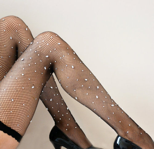 Glitter, Sparkle, and Shine: 5 Pairs of Burlesque Stockings (Shown: La Lilouche)