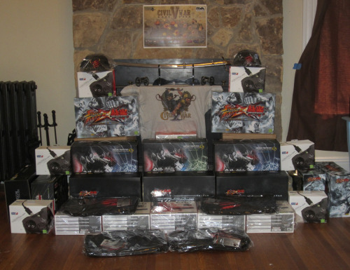 Proud for Civil War V to be sponsored by Mad Catz! Here's what you can win only if you come to Richmond next week! Thanks toMark Julio and Mad Catz, who make the best sticks and really support the FGC!Please Share!