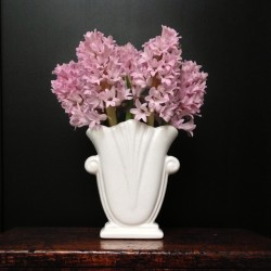 #sweet #spring #hyacinth #flowers #flowerarrangement #whiteware #vase