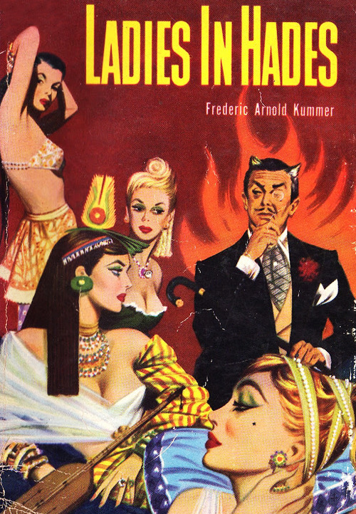 vintagegal:   Ladies in Hades by Frederic Arnold Kummer, 1950