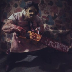 Leatherface in Wonderland #TheTexasChainSawMassacre #Leatherface #Wonderland