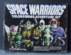 Colorforms Space Warriors Playset by Astronit on Flickr.