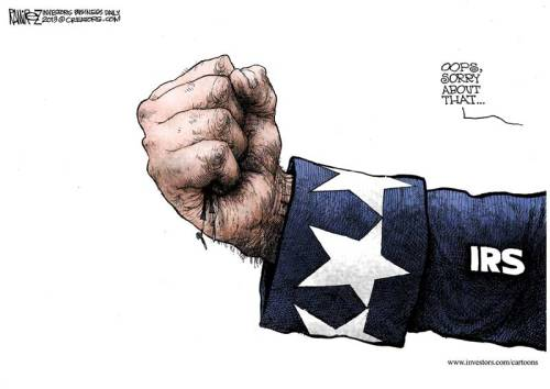 Michael Ramirez Cartoon - Mon, May 20, 2013, http://j.mp/10g4cto