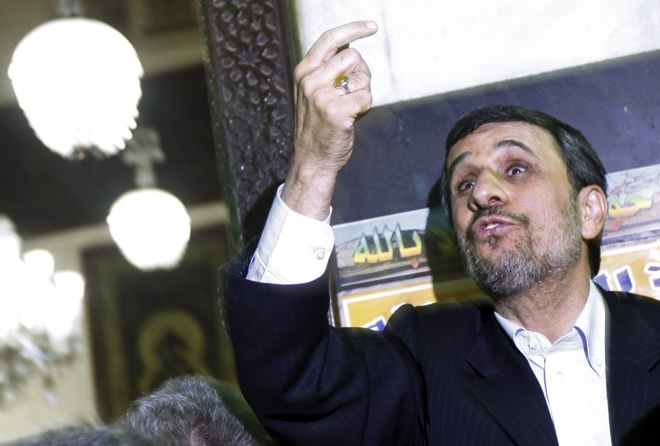 Iran: Mahmoud Ahmadinejad's Career Reaches Nadir Amid Shoe Attacks and Public Humiliations http://www.ibtimes.co.uk/articles/432171/20130206/ahmadinejad-shoe-cairo-tehran-iran-larijani.htm