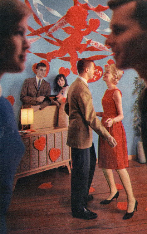 Seventeen Magazine, 1963   happy valentine's day!