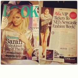 tear sheets from Look magazineimage is from fashion week