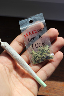 "stonertaco:  mbgnathan: -mbg ""weed'ont give a fuck"" reblog !… - ♕ 
