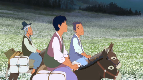 ca-tsuka:The Road Called Life new animated feature film by korean Studio MWP and director Ahn Jae-Hoon (Green Days). An omnibus based on 3 famous korean stories.