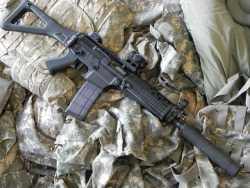 militaryandweapons:  SIG 556 SBR AAC SDN-6 by c.swimm on Flickr.
