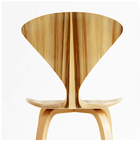 cherner chair in gumwood
